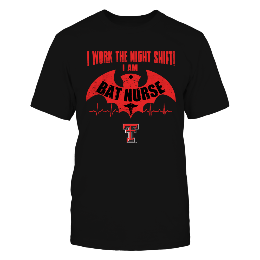Texas Tech Red Raiders - Nurse - Bat Nurse Front picture