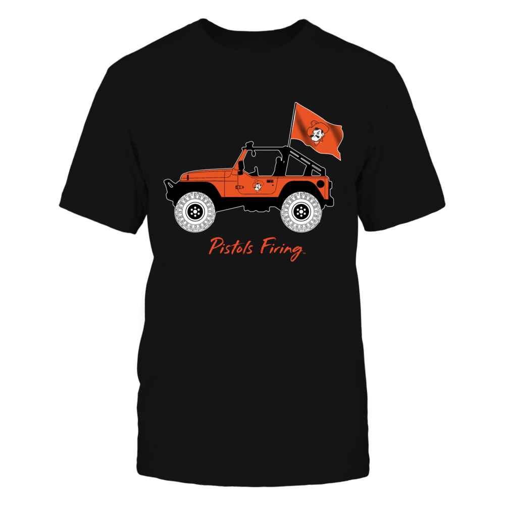 Oklahoma State Cowboys - Jeep - Jeep Car - IF-IC13-DS45 Front picture