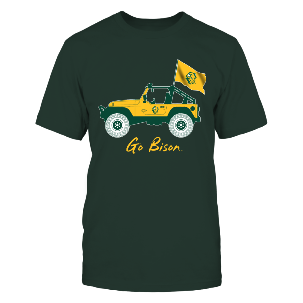North Dakota State Bison - Jeep - Jeep Car Front picture