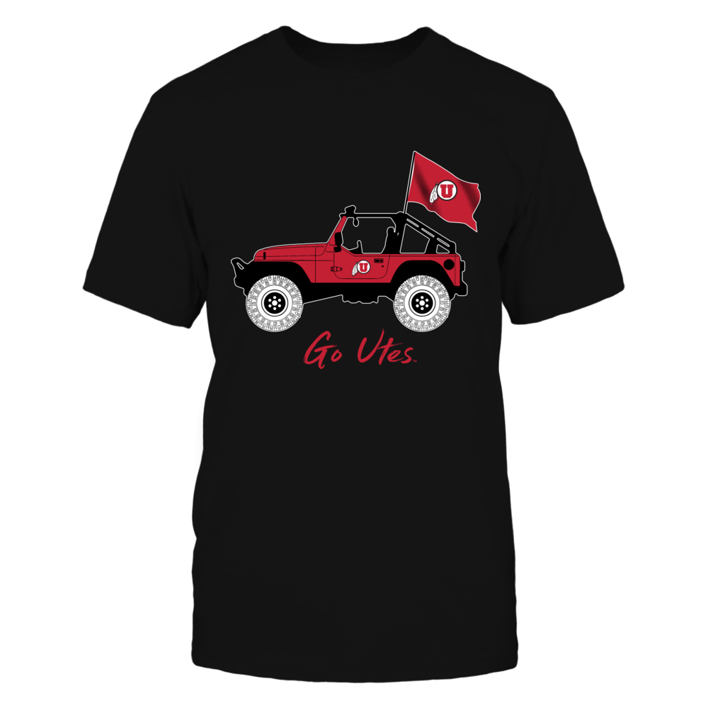 Utah Utes - Jeep - Jeep Car Front picture