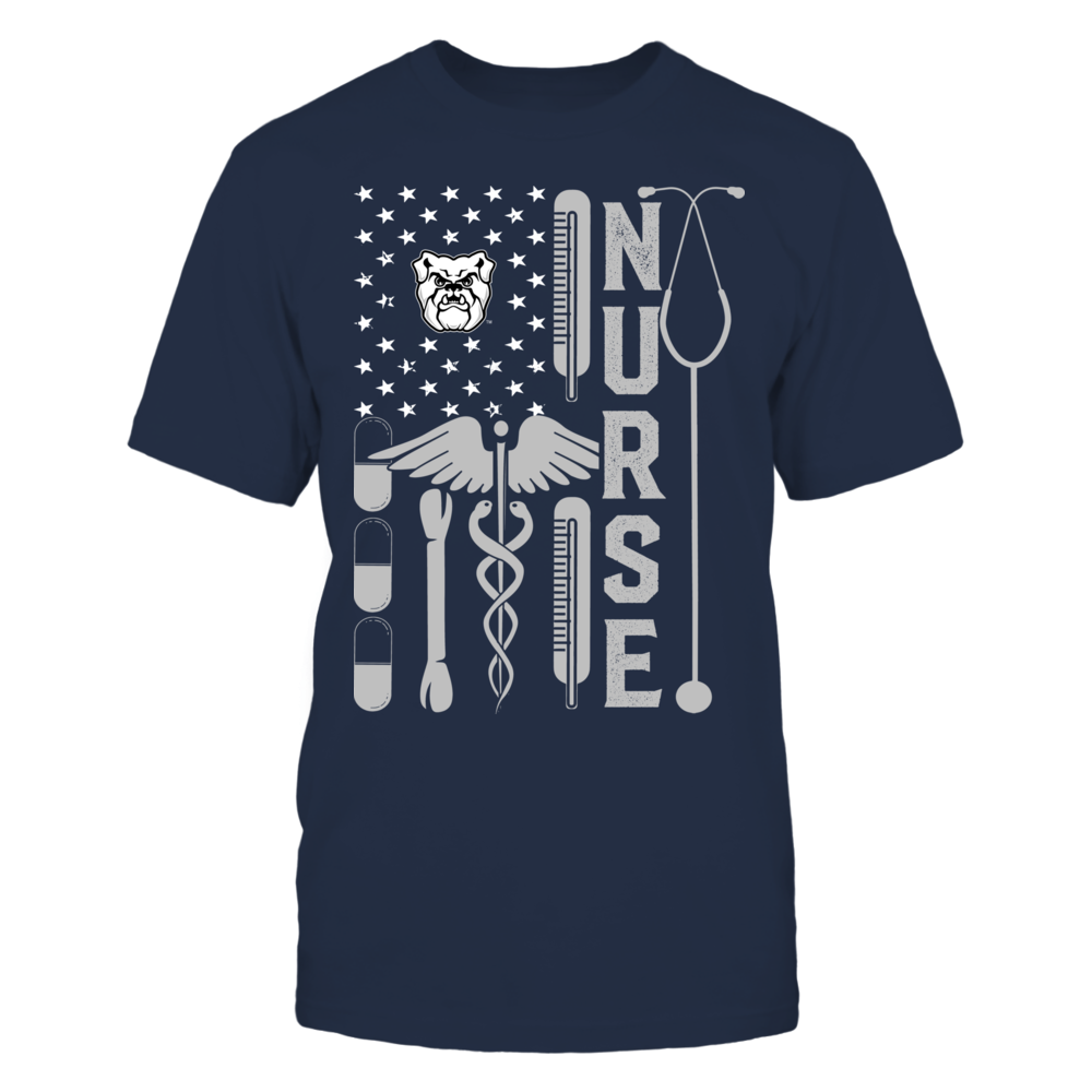 Butler Bulldogs - Flag Shirt - Nurse Front picture