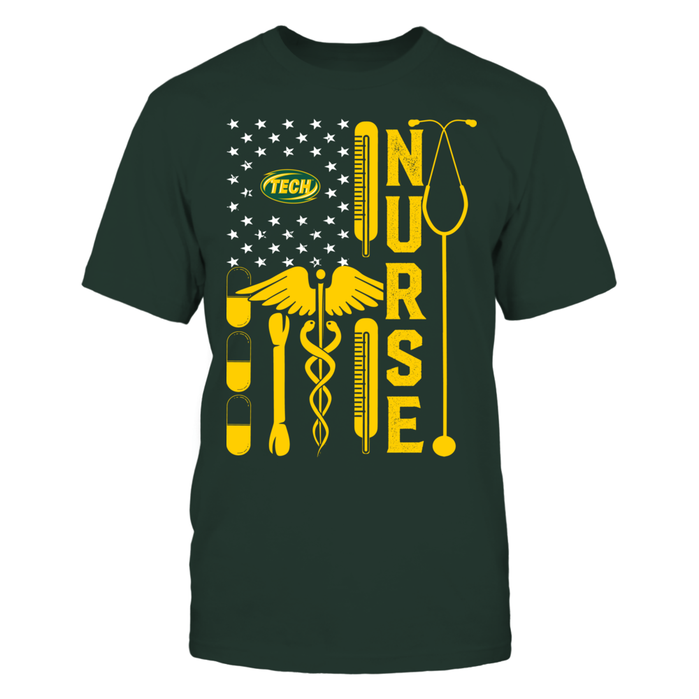 Arkansas Tech Golden Suns - Flag Shirt - Nurse Front picture