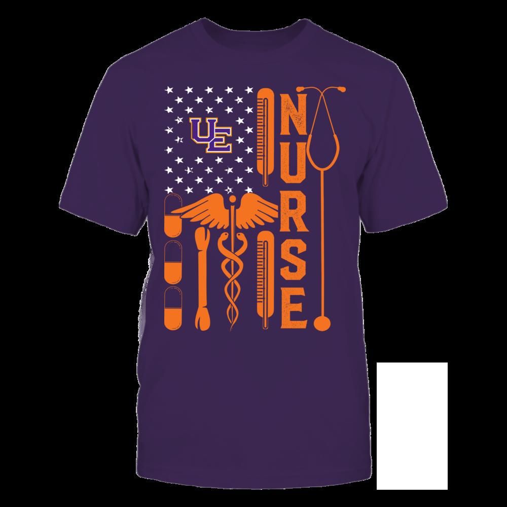 Evansville Purple Aces - Flag Shirt - Nurse Front picture