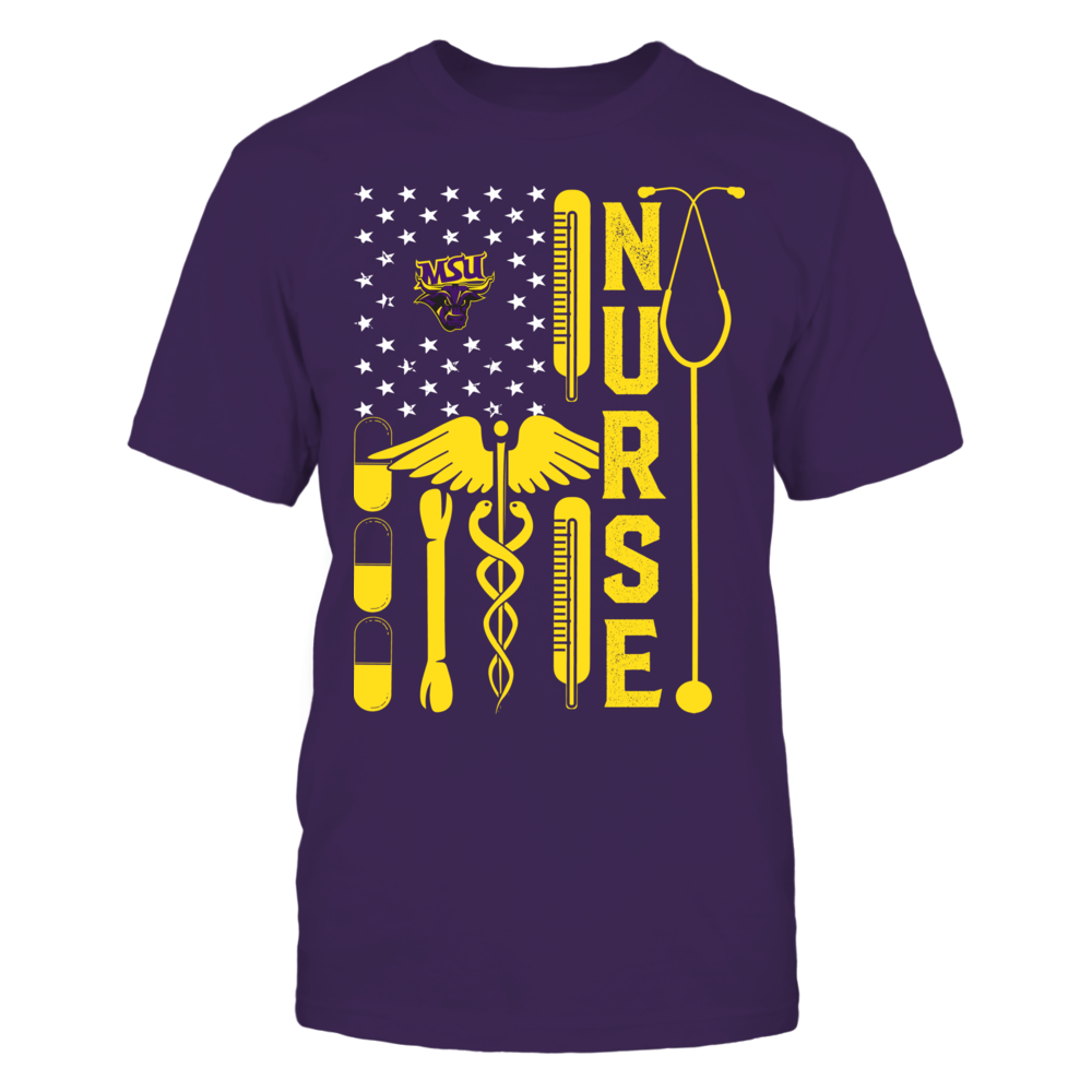 Minnesota State Mavericks - Flag Shirt - Nurse Front picture