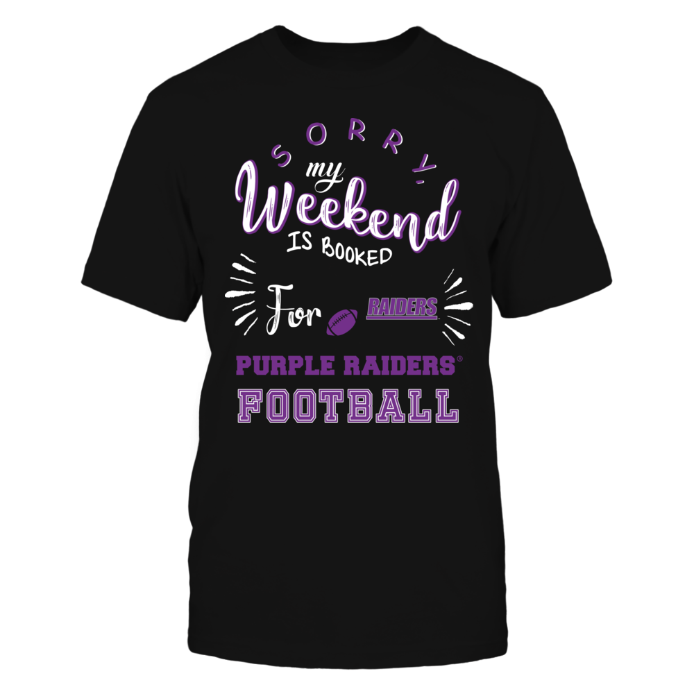 Mount Union Raiders - Sorry My Weekend is Booked Front picture