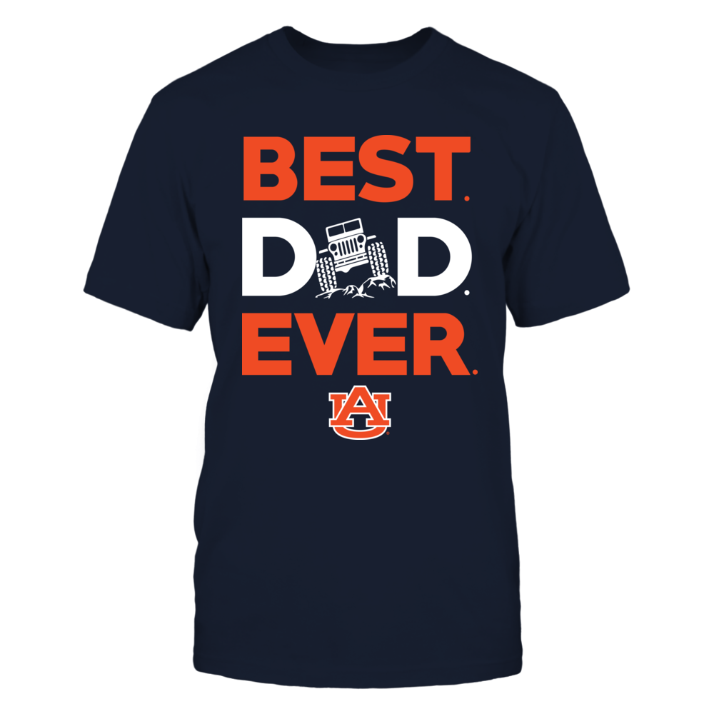 Auburn Tigers - Best Dad Ever Jeep Car Front picture