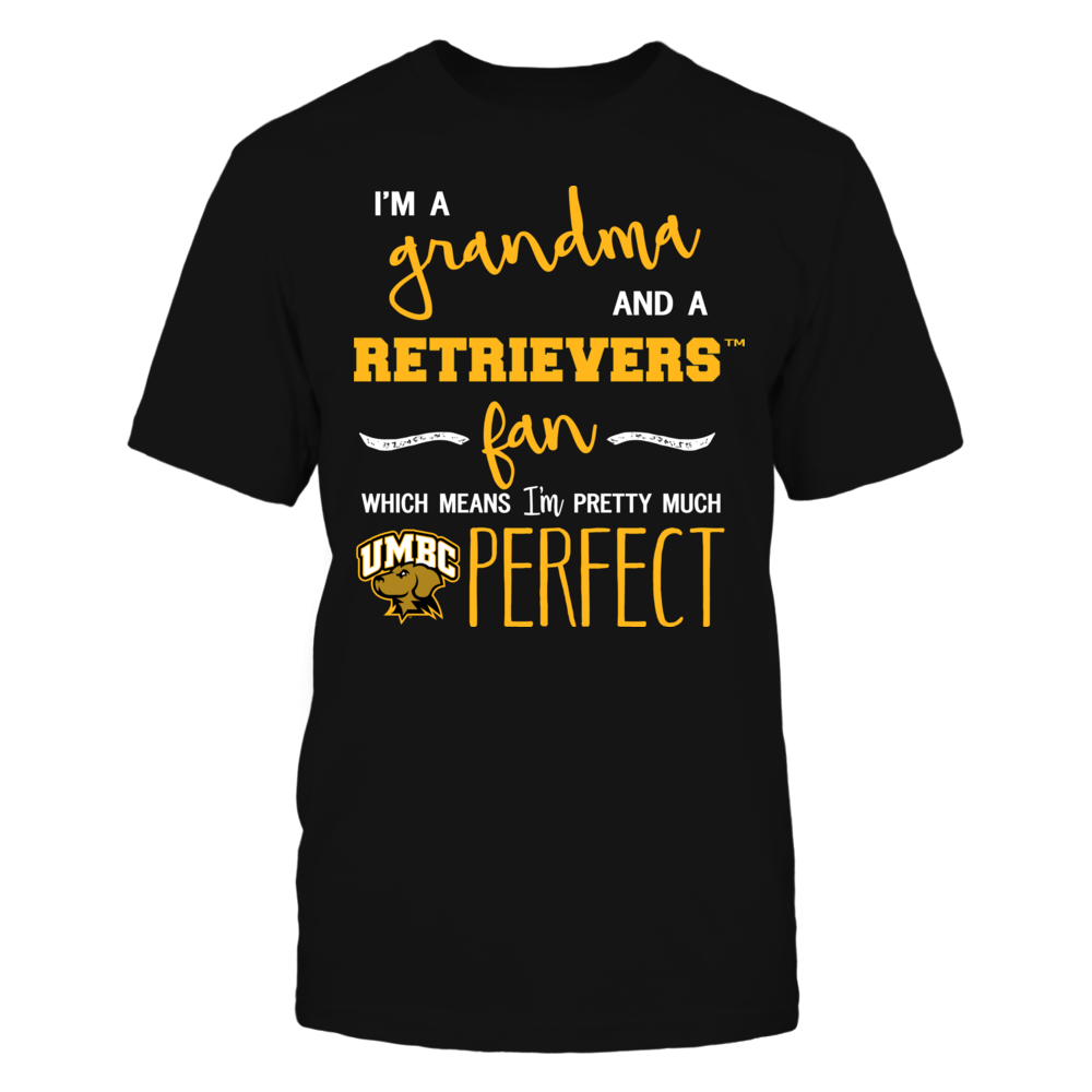 UMBC Retrievers - Perfect Grandma Front picture