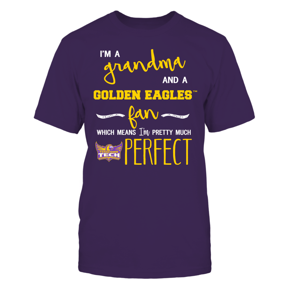 Tennessee Tech Golden Eagles - Perfect Grandma Front picture
