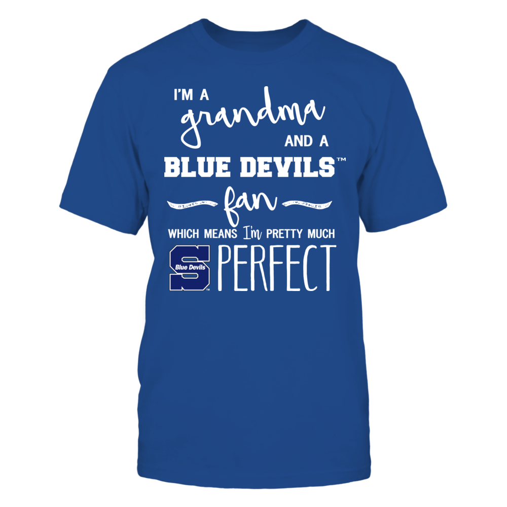 Wisconsin Stout Blue Devils - Perfect Grandma Front picture