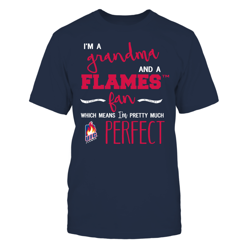 UIC Flames - Perfect Grandma Front picture