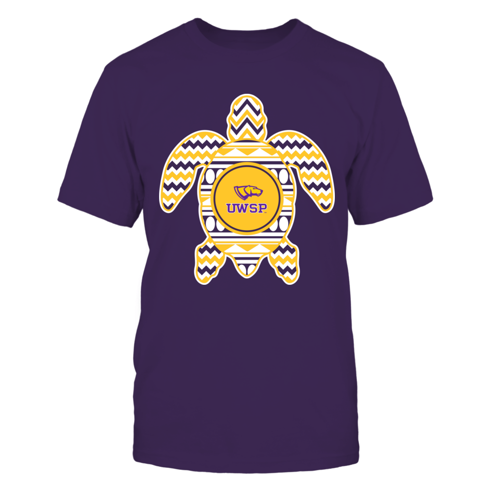 Wisconsin-Stevens Point Pointers - Chevron Turtle Front picture
