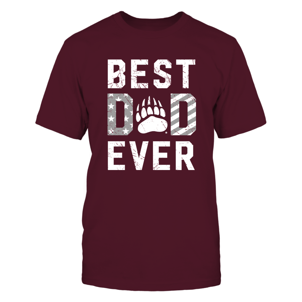 Montana Grizzlies - Best Dad Ever Nation Flag Pattern Front picture