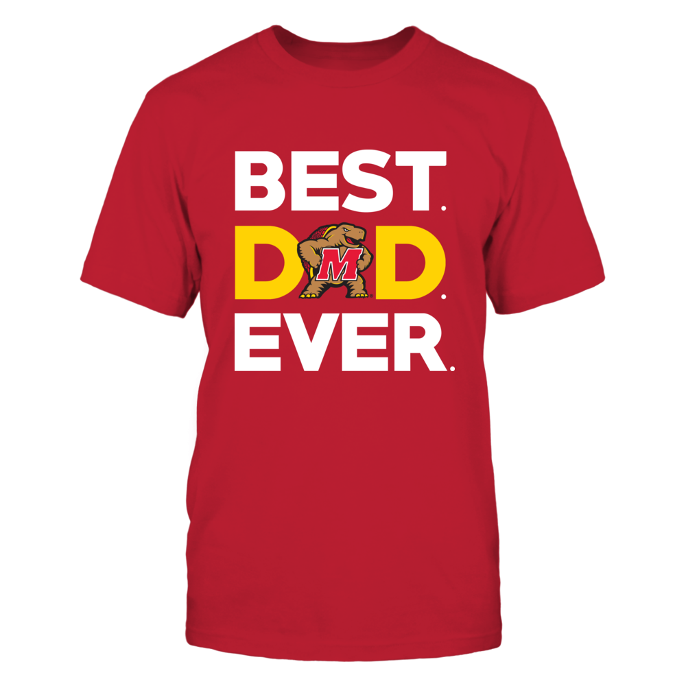 Maryland Terrapins - Best Dad Ever Front picture