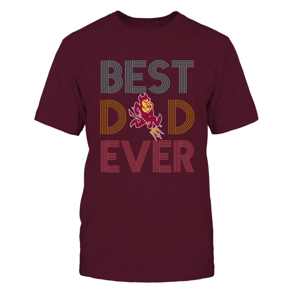 Arizona State Sun Devils -  Best Dad Ever - Retro Style Front picture