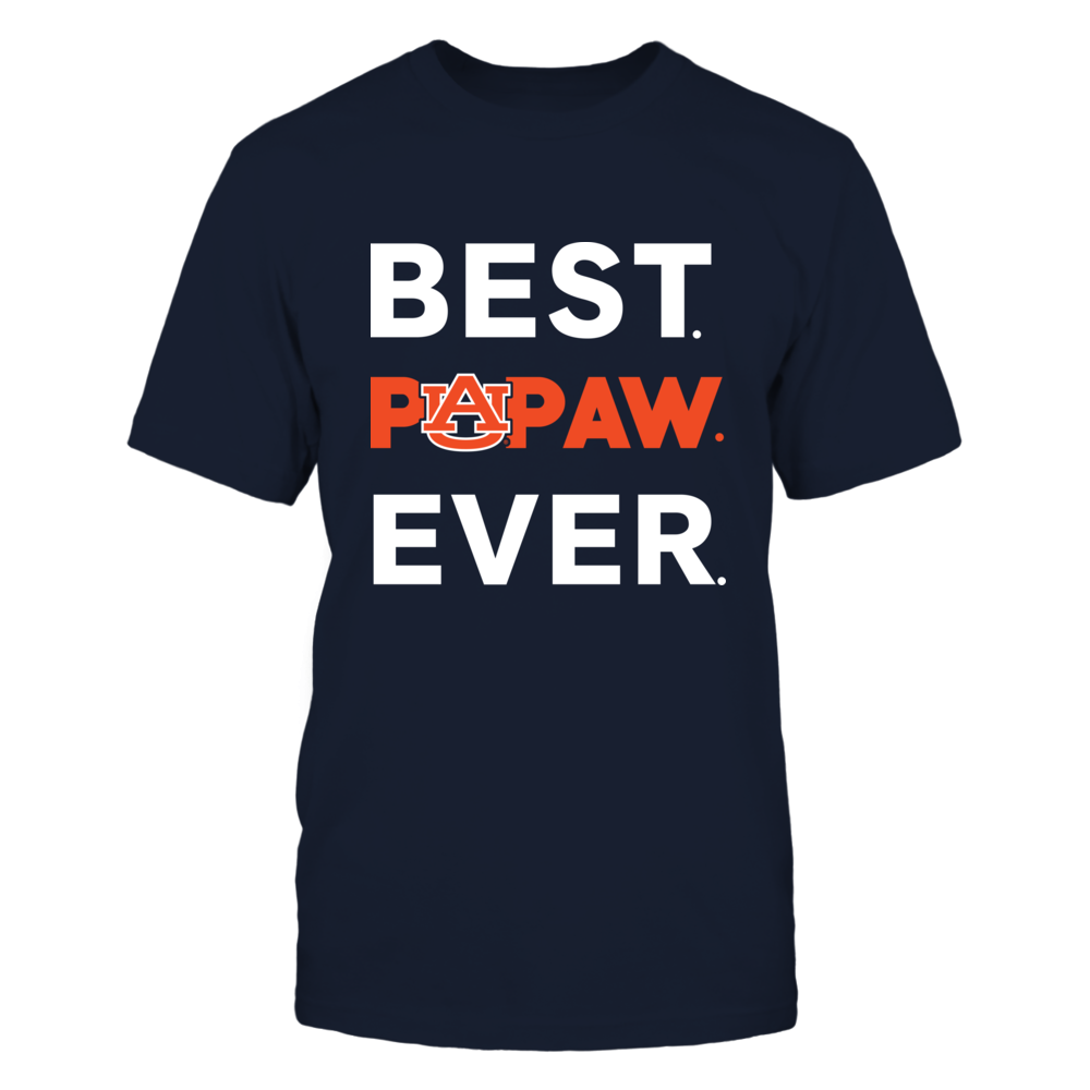 Auburn Tigers - Best Ever - Family Titles - Papaw Front picture