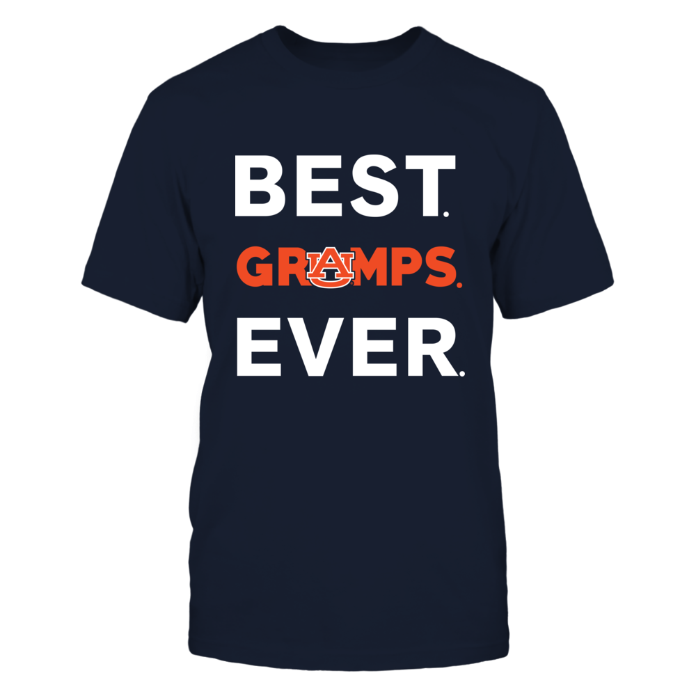 Auburn Tigers - Best Ever - Family Titles - Gramps Front picture