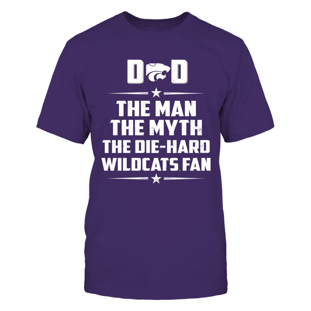 Kansas State Wildcats - Dad - The Man - The Myth - The Fan Front picture