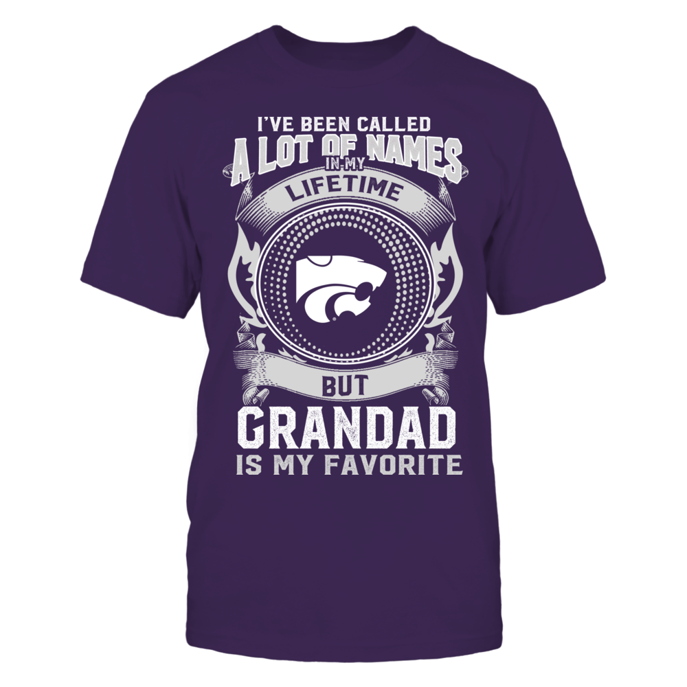 Kansas State Wildcats - My Favorite Name - Grandad Front picture