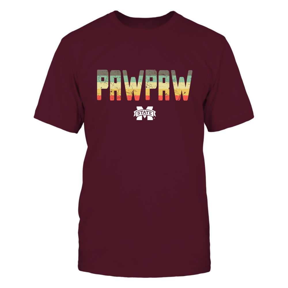 Mississippi State Bulldogs - Paw Paw Vintage Graphic Front picture