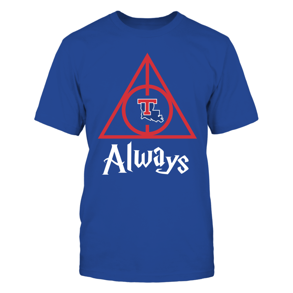 Louisiana Tech Bulldogs - Deathly Hallows Front picture