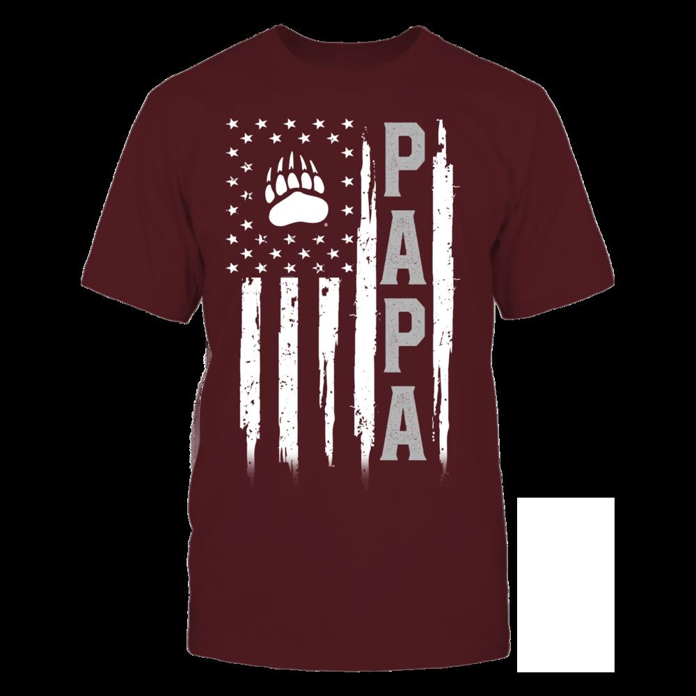 Montana Grizzlies - Flag Shirt - Papa Front picture