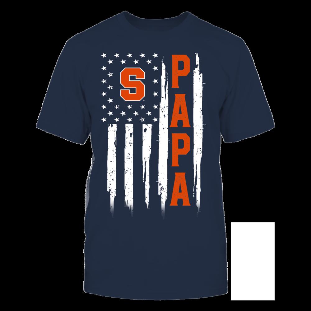 Syracuse Orange - Flag Shirt - Papa Front picture