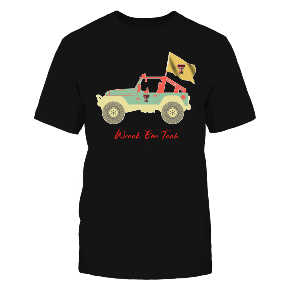 Texas Tech Red Raiders - Vintage Graphic Jeep Front picture