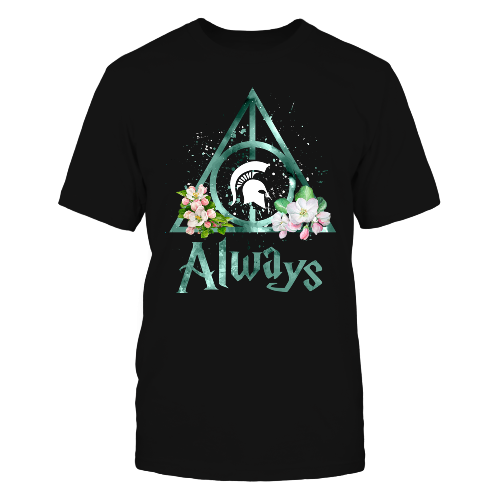 Michigan State Spartans - Color Drop Deathly Hallows - State Flower - IF-IC13-DS33 Front picture