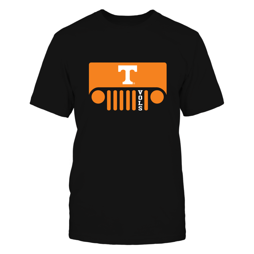 Tennessee Volunteers - Jeep - Jeep Logo - Team Quote Front picture