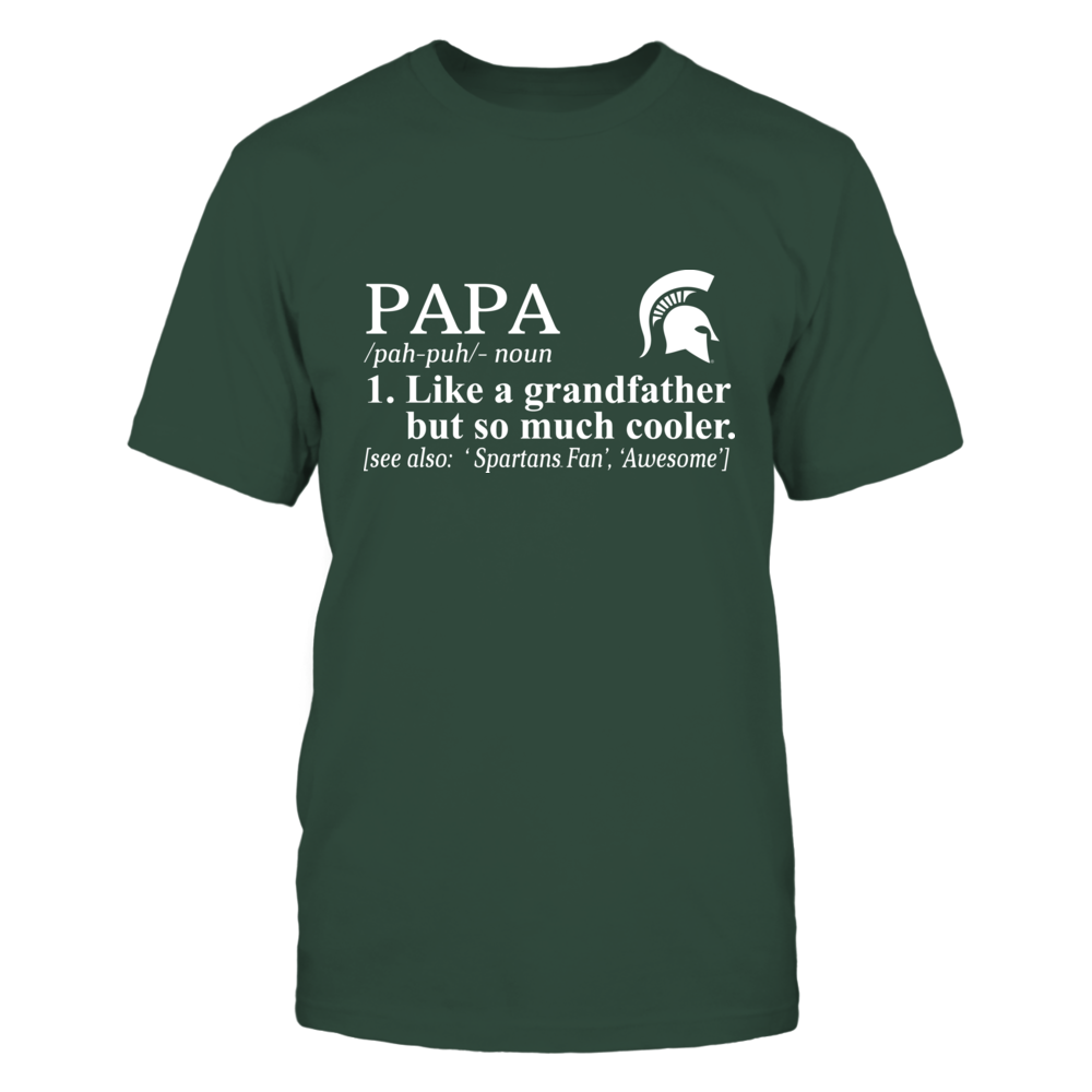 Michigan State Spartans - Definition - So Much Cooler - Papa Front picture