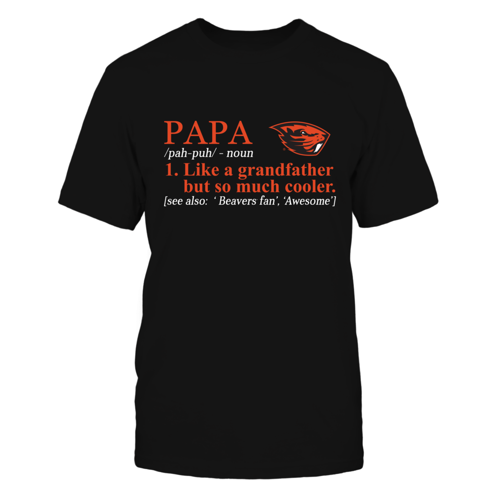 Oregon State Beavers - Definition - So Much Cooler - Papa Front picture