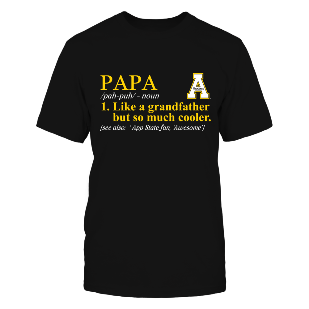 Appalachian State Mountaineers - Definition - So Much Cooler - Papa Front picture