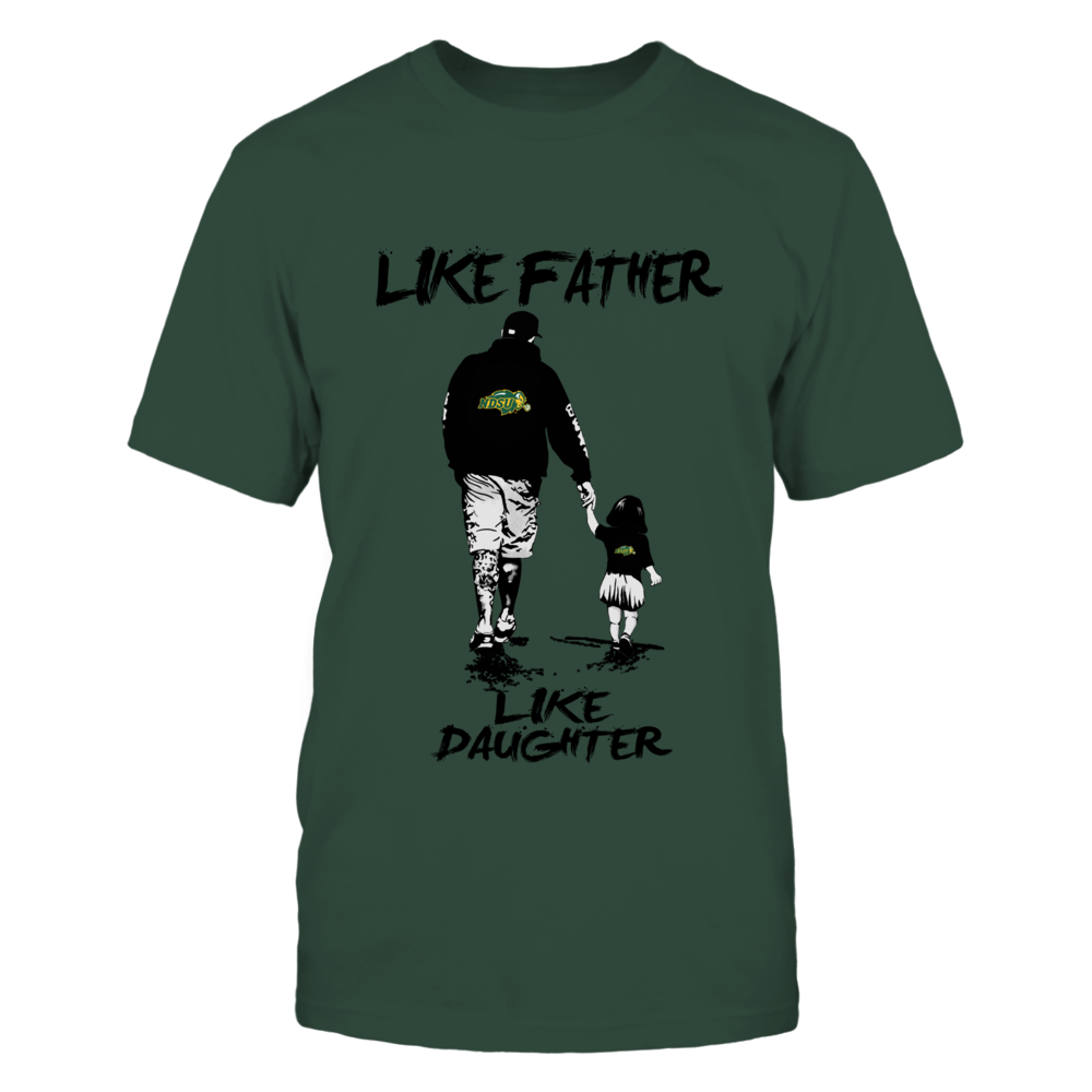 North Dakota State Bison - Like Father Like Daughter - Grey Shirt Front picture