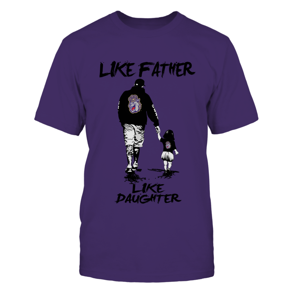 James Madison Dukes - Like Father Like Daughter - Grey Shirt Front picture