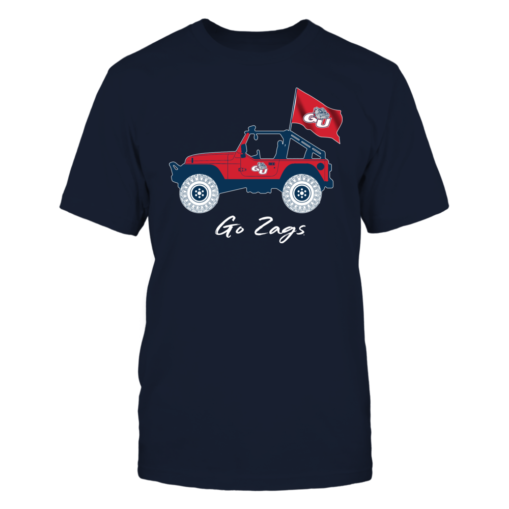 Gonzaga Bulldogs - Jeep - Jeep Car Front picture