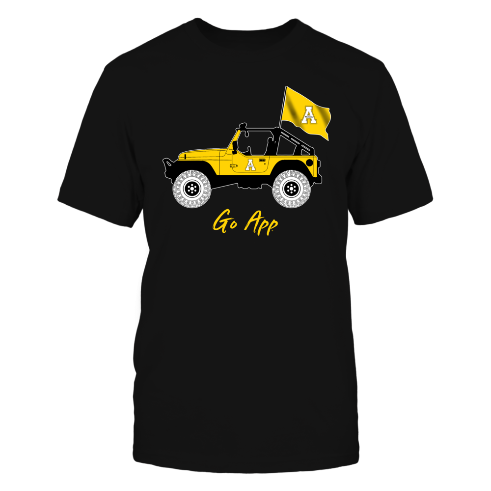 Appalachian State Mountaineers - Jeep - Jeep Car - IF-IC13-DS27 Front picture