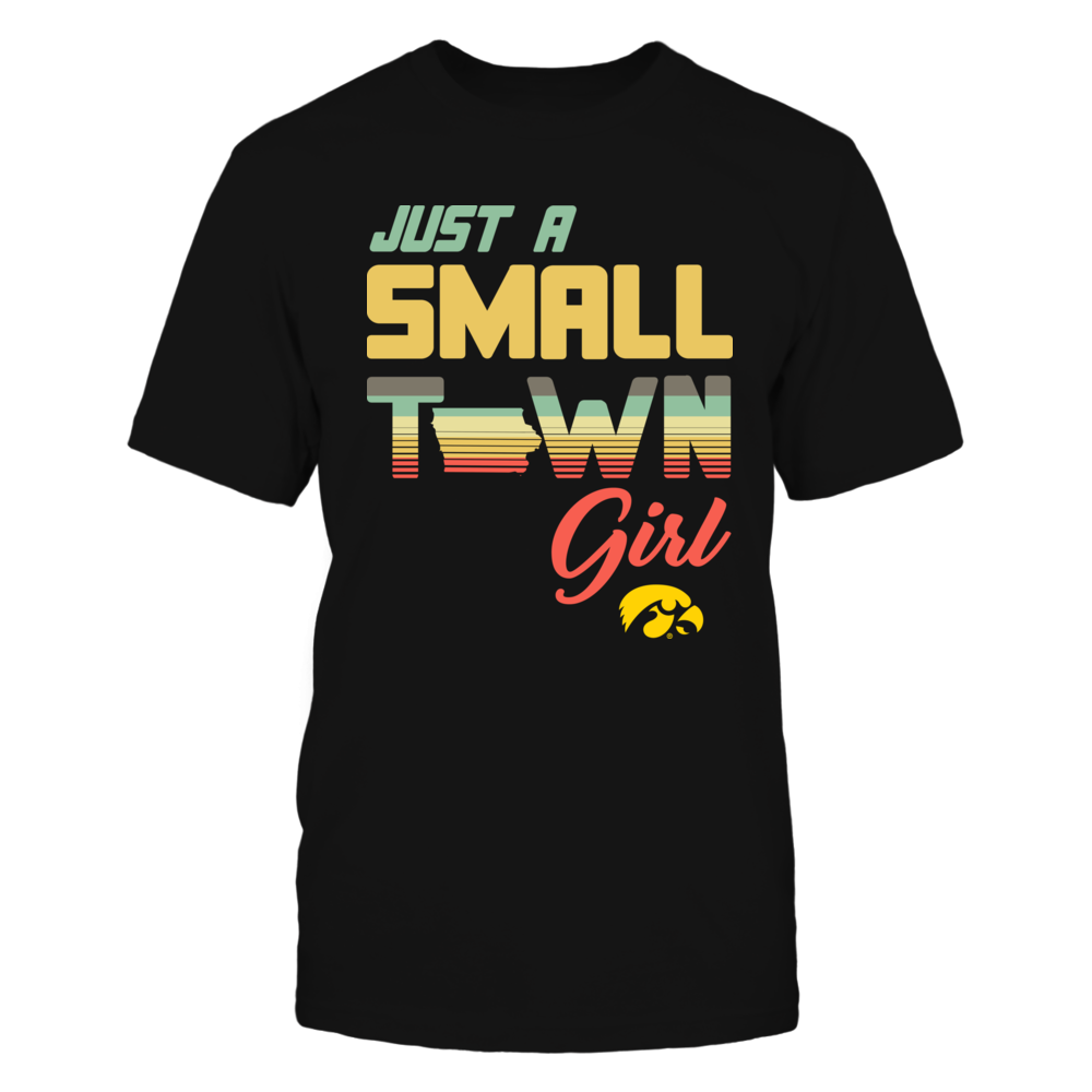 Iowa Hawkeyes - Vintage Graphic - Small Town Girl Front picture
