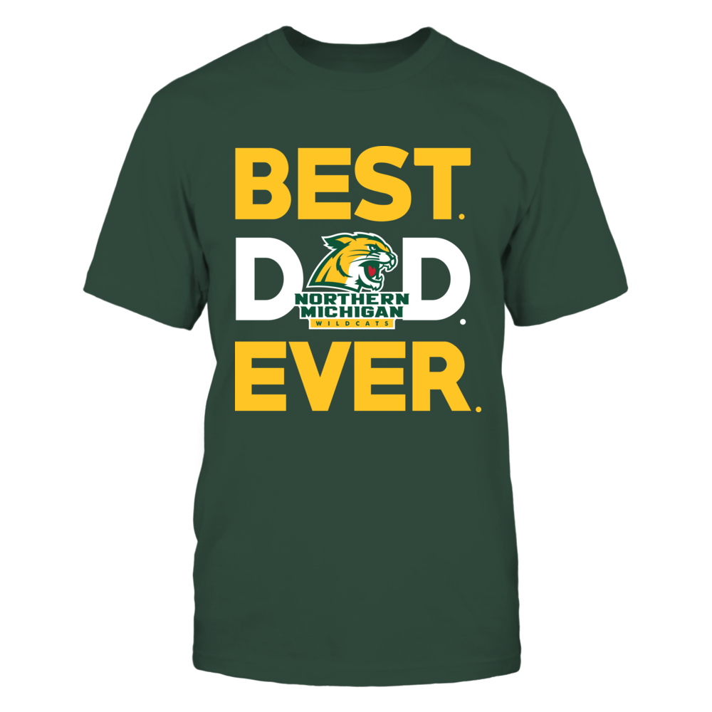 Northern Michigan Wildcats - Best Dad Ever Front picture