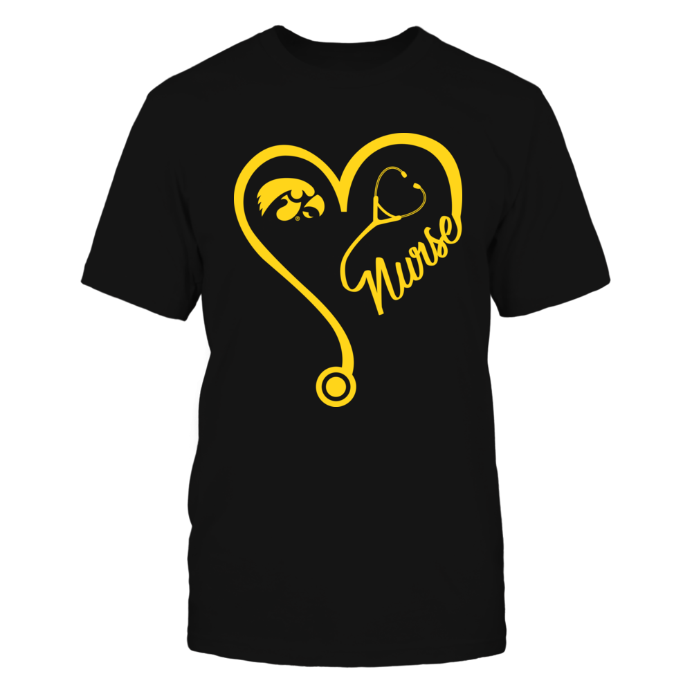 Iowa Hawkeyes - Nurse Heart And Team - IF-IC17-DS45 Front picture