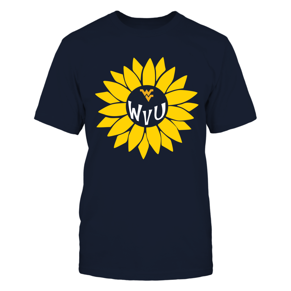 West Virginia Mountaineers - Sunflower Monogram Front picture
