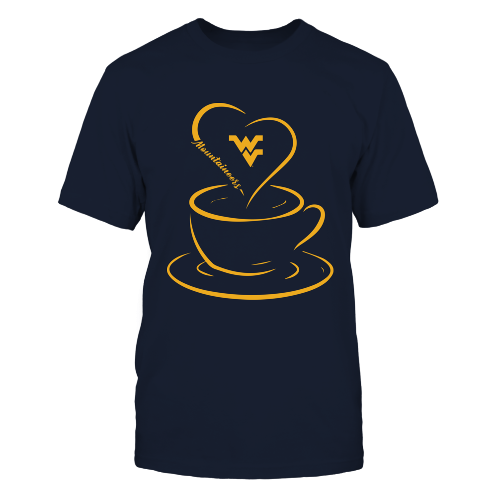 West Virginia Mountaineers - Coffee - Heart Coffee Front picture