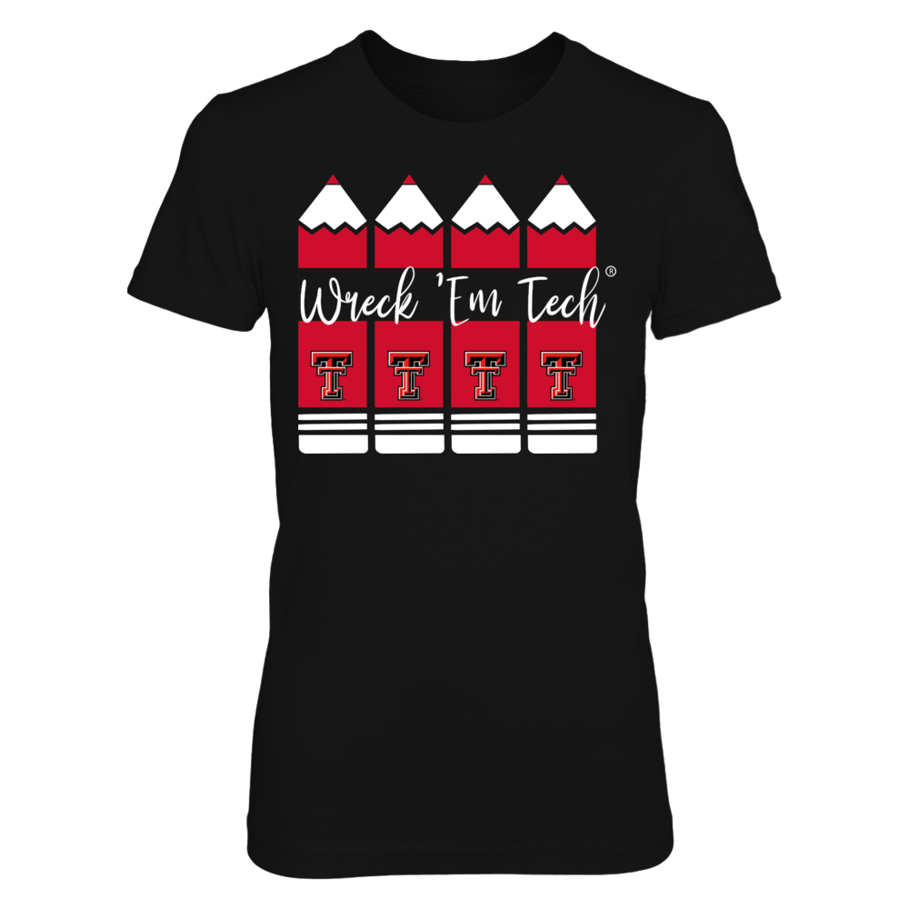 Texas Tech Red Raiders - Teacher Pencils - IF-IC13-DS45 Front picture