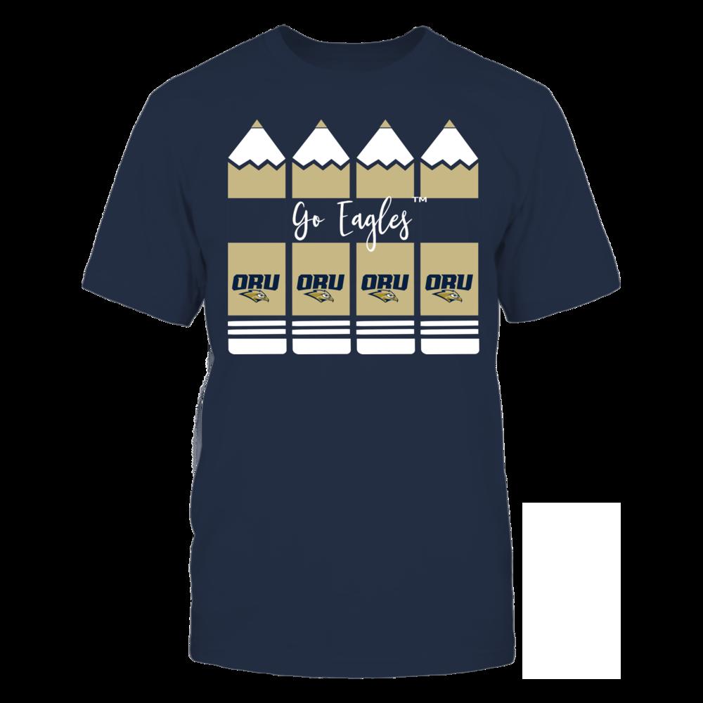 Oral Roberts Golden Eagles - Teacher Pencils Front picture
