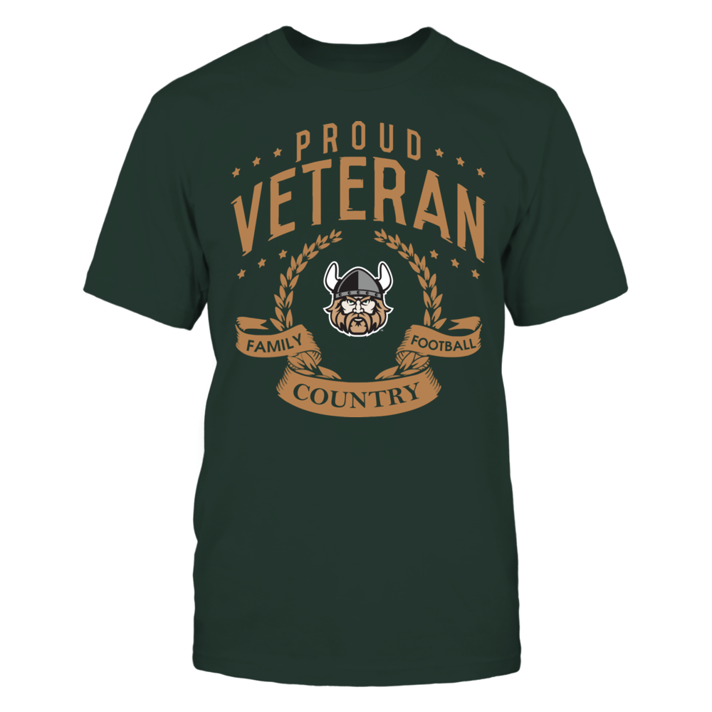 Cleveland State Vikings - Proud Veteran Front picture