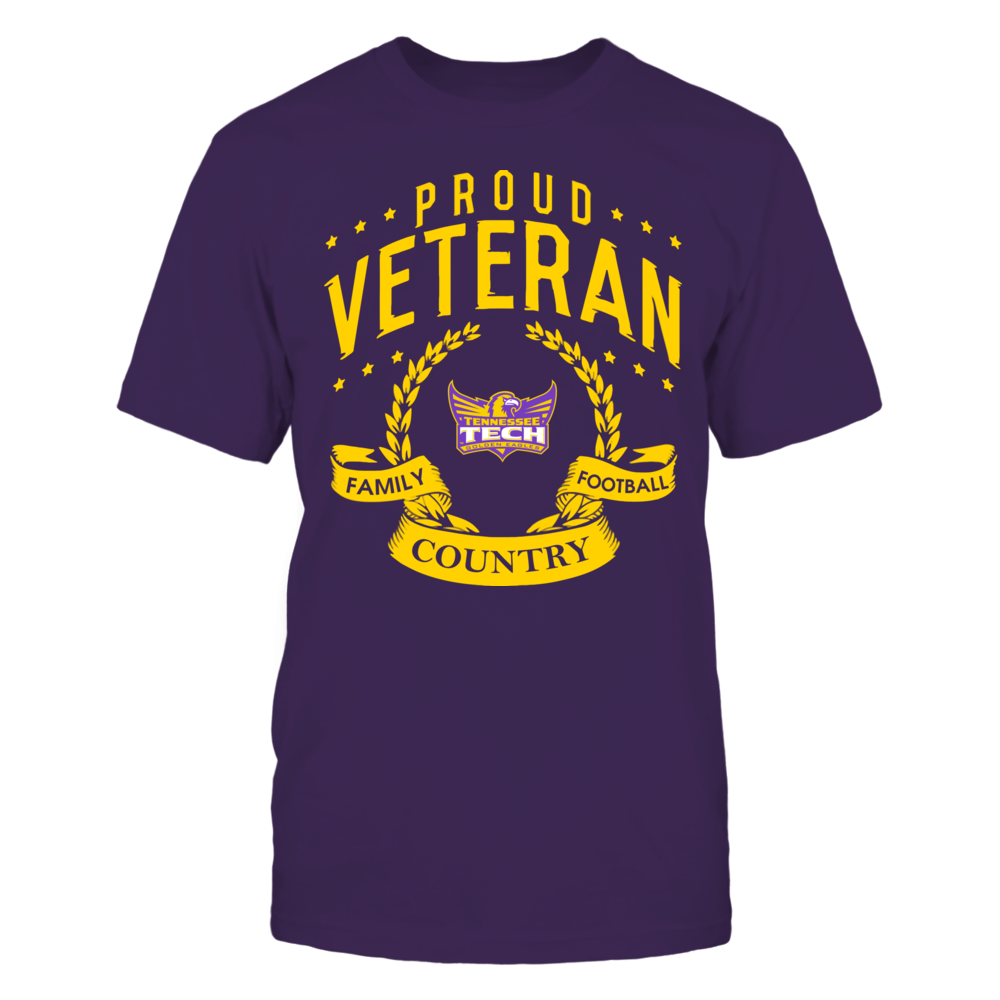 Tennessee Tech Golden Eagles - Proud Veteran Front picture