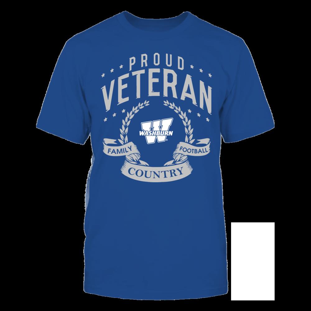Washburn Ichabods - Proud Veteran Front picture