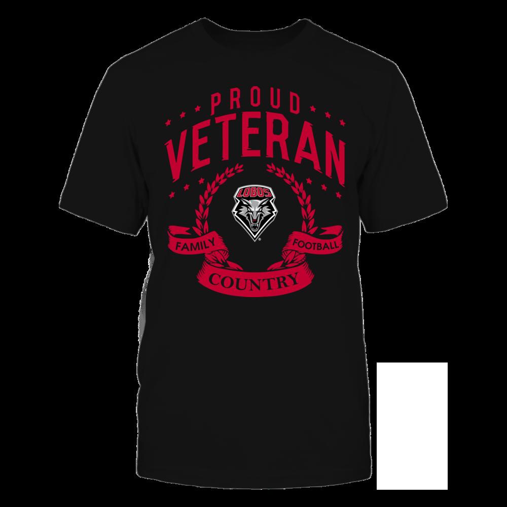 New Mexico Lobos - Proud Veteran Front picture