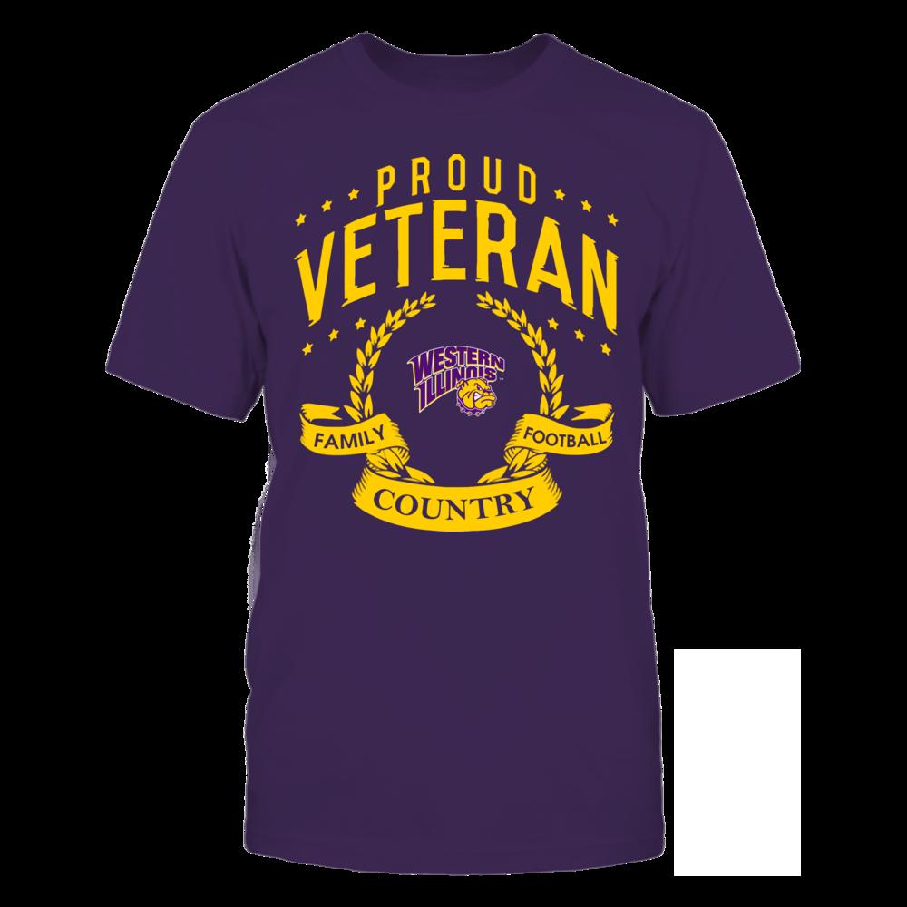 Western Illinois Leathernecks - Proud Veteran Front picture