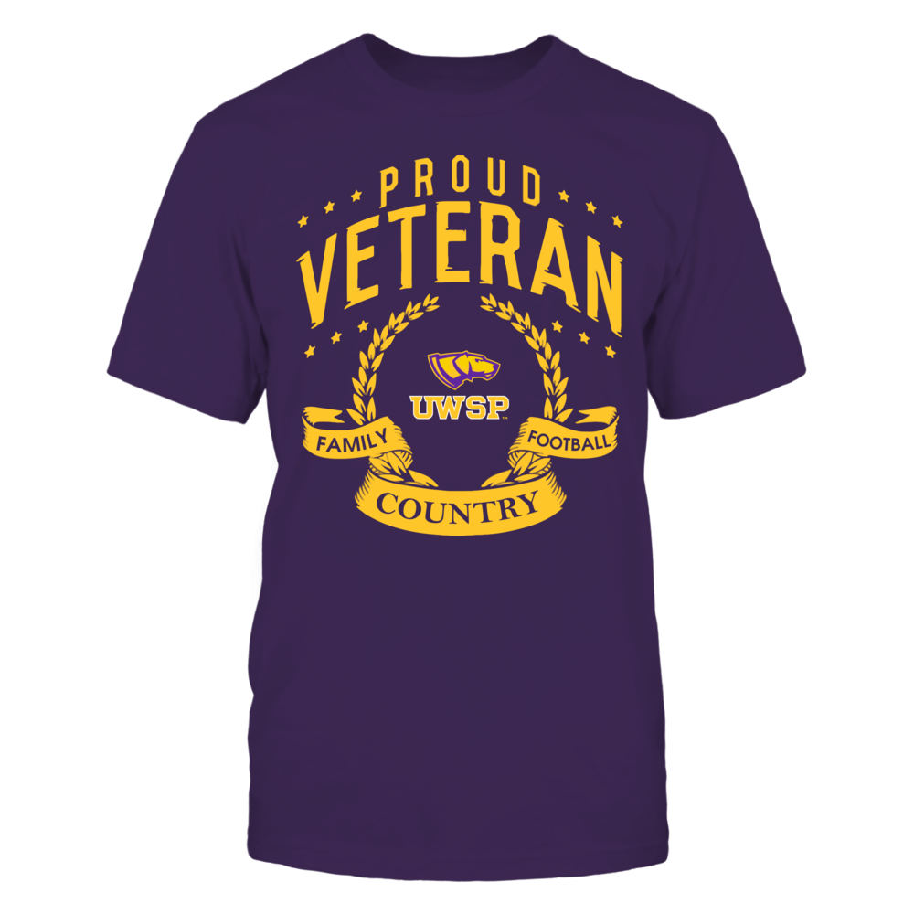 Wisconsin-Stevens Point Pointers - Proud Veteran Front picture