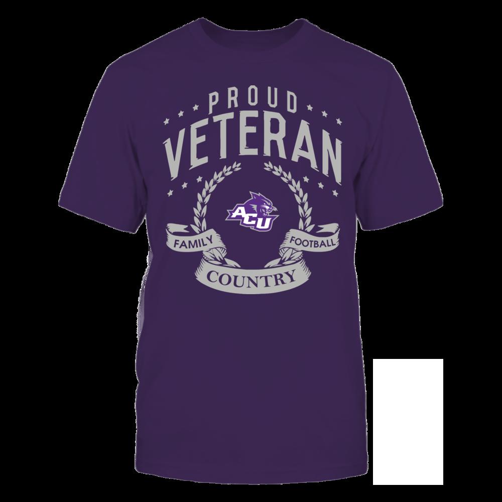 Abilene Christian Wildcats - Proud Veteran Front picture